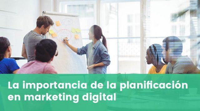 planificación en marketing digital