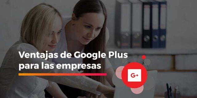 Google plus para las empresas