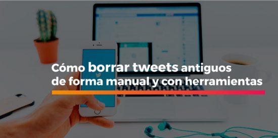 borrar tweets