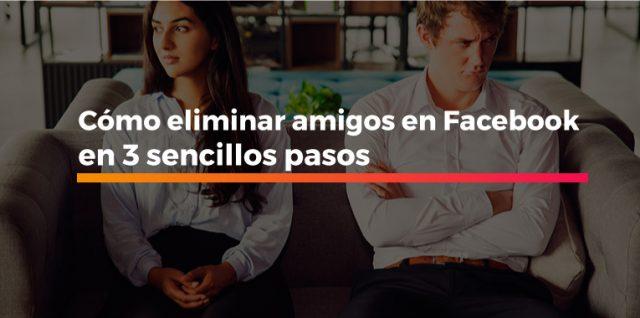 cómo eliminar amigos en Facebook
