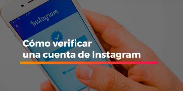 verificar una cuenta de Instagram