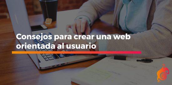 crear una web orientada al usuario