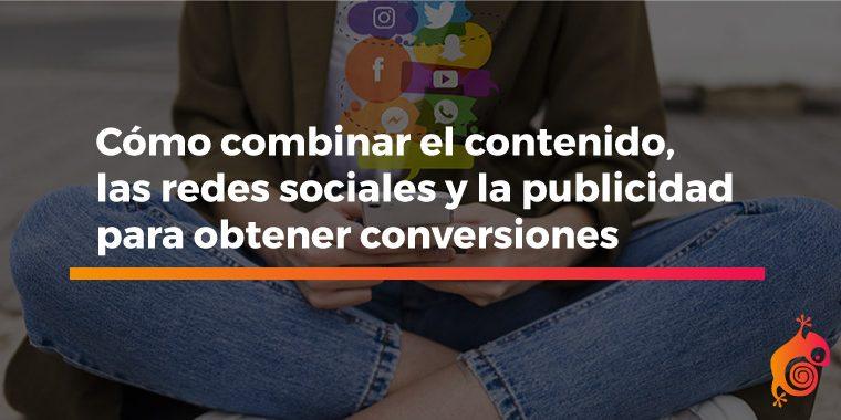 contenido y redes sociales