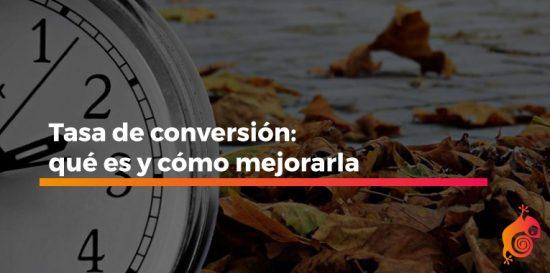 que es la tasa de conversion